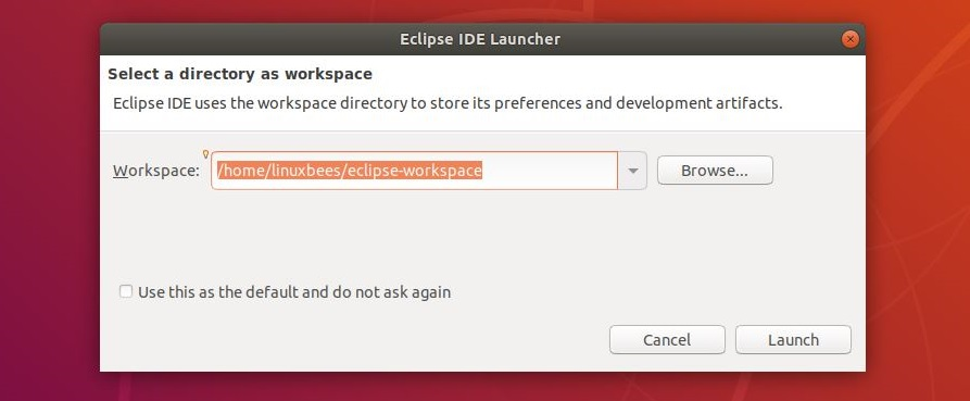 Set Up Workspace on Eclipse