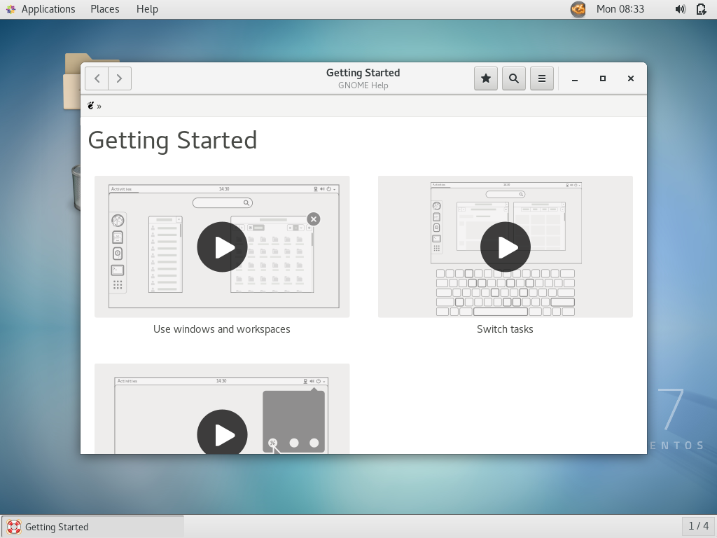 How To Install GNOME GUI On CentOS 7 | LinuxBees