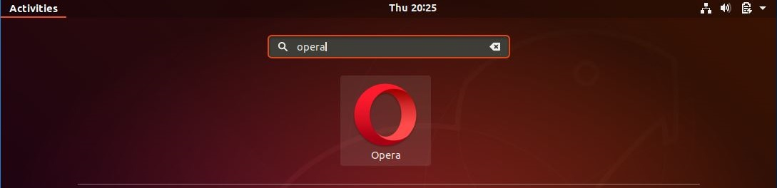 Install Opera Browser On Ubuntu 18.04 - Start Opera